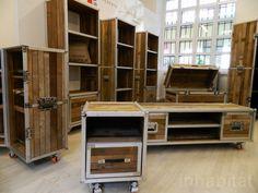 IDI Studio's Recycled Teak Roadies are for the Rock 'n' Roll Set