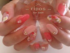 <nail salon ripos> みよし市のネイルサロン ♡リポス♡