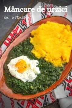 Rețeta de mâncare de urzici cu usturoi. O mâncare tradițională, de primăvară, foarte simplă, dar delicioasă și plină de vitamine. Ethnic Recipes, Food, Meal, Eten, Meals