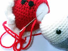 How to Join Different Colour Amigurumi Pieces
