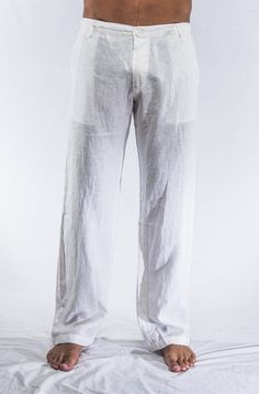 Designer Linen Pants