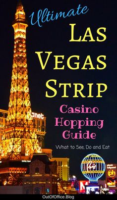 Plan your Las Vegas Casino Hopping adventure: 5 star hotels, celebrity chefs, A-List nightclubs, Broadway shows, ultimate spas and high-end shopping. Travel in North America. Usa Travel Guide, Travel Usa, Travel Tips, Travel Ideas, Travel Destinations, Travel Inspiration, Canada Travel, Travel Hacks, Travel Advice
