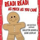 Here's a quick and easy holiday bulletin board or door display for your gingerbread unit! Students choose a favorite book, rate it, then choose the...