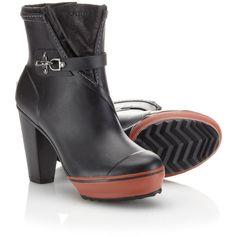 Medina Rain Boot ($200) via Polyvore