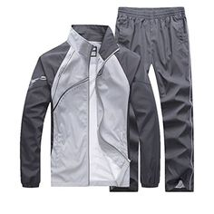 Discounted November's Chopin Men's Fitted Exercise Tracksuit Set 2 Pieces Full-Zip Casual Jogging Athletic Workout Sweat Suits #November'sChopinMen'sFittedExerciseTracksuitSet2PiecesFull-ZipCasualJoggingAthleticWorkoutSweatSuits Workout Sweat Suit, Track Suit Men, Man Set, Mens Activewear, Sports Jacket, Sport Casual, Men Casual, Sport Wear, Mens Sweatshirts