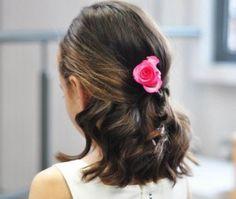 Hairstyles Junior Bridesmaids