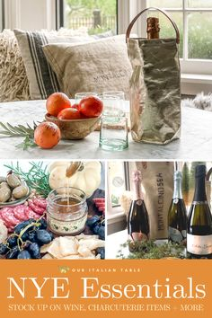 Don't forget that New Year's Eve is right around the corner! Get ready by stocking up on wine and pantry items now, for delivery in time for NYE. Grab some beautiful wine bags to carry the vino in style, unique jams & honeys for the charcuterie board, and Italian wine right to your door. #newyears #newyearseve #newyearsparty #newyearseveparty #newyears2021 #newyearsevedinner #charcuterieboard #charcuterieplate #winejam #artisanalhoney #balsamicsauce