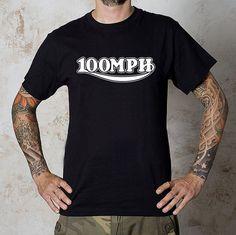 Hot repop vintage style Triumph 100mph logo by CITY17UNDERGROUND