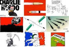 HOMMAGE • Des dessins pour notre ami Charlie | Courrier international