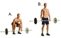 Barbell Deadlift http://www.menshealth.com/fitness/body-you-want-in-28-days/slide/2