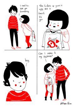 ilustraciones pareja felicidad (21)