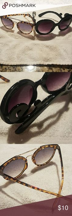 Sunglasses Tortoise Brown and Black Sunglasses Accessories Sunglasses