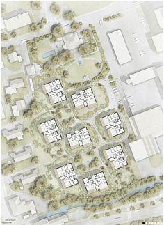 © extrā Landschaftsarchitekten -  1. preis Studienauftrag residential planning, Falkeisenmatte, Zofingen, 2014