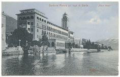 foto storica Grand Hotel Gardone #lagodigarda #historichotel