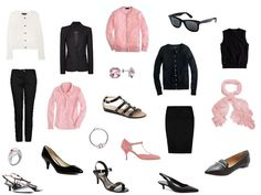 The Vivienne Files: Black, White and Pink - expanding on a core wardrobe