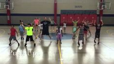 An easy to learn aerobic dance that is a lot of fun and will get your heart pumping!! The students will perform this dance every Thursday this year in physical education class to warm the