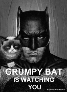 Grumpy Cat Bat