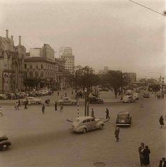 Final da década de 40 - Praça João Mendes.