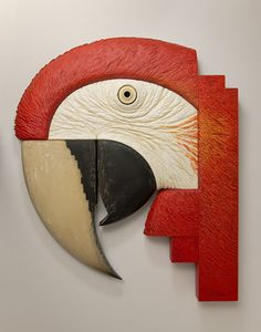 Australia based artist and sculptor, John Morris graciously took time to answer questions about his fascinating wood sculptures. Mural Wall Art, Wood Wall Art, Wood Sculpture, Wall Sculptures, Cardboard Art, Ceramic Animals, Driftwood Art, Fish Art, Art Deco Design