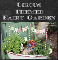 House of Hawthornes: Fairy Garden With A Circus Theme