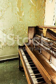 Piano Grunge royalty-free stock photo