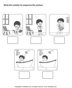 sequencing family events worksheet - Google Search | sequence ...