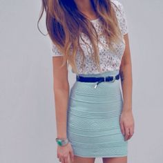 I used to wear something like this, sure wish I could now.  I love this !