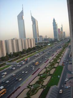 Dubai strip, United Arab Emirates