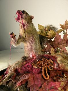 "Bibus, ""Cannibal Squirrels 2010"""