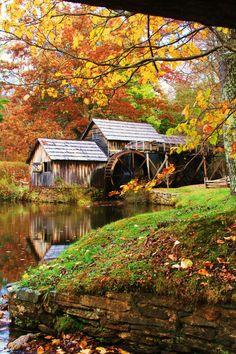 Mabry Mill - Meadows Of Dan, Virginia