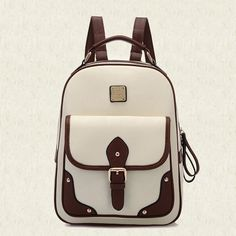 New 2015 High Quality Brand Patchwork Women Backpacks Mochila Women's PU Leather Backpack Travel bag School Backpack Best Travel Backpack, Retro Backpack, Small Backpack, Backpack Bags, Fashion Backpack, Chic Backpack, Girl Backpacks, School Backpacks, Faux Leather Backpack