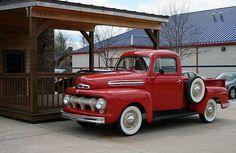 51 Ford truck  by Jumpin Jiminy, via Flickr