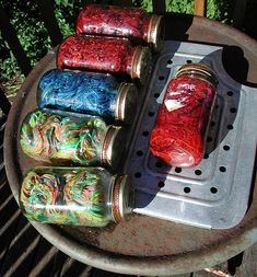 setting acid dyes with vinegar and solar heat
