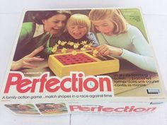 Vintage 1975 PERFECTION Game By Lakeside COMPLETE Tested and works by treasuresmemories80 on Etsy