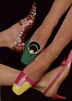 Roger Vivier shoes, 1967 #rogervivierbag