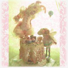Fairy Rabbit Birthday Garden bbflockling