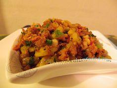 Cocina Costarricense: picadillo verduras con chorizo