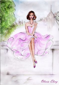 Fabulous in pink by Olivia Elery