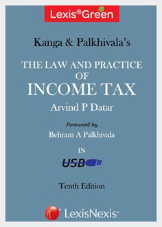 Kanga and Palkhivala: The Law and Practice of Income Tax, 10th edition 2014 book  contains approximately more than 18,000 cases, from Supreme Court and High Court jurisprudence, covering upto 358 ITR