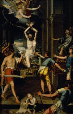 El Martirio de San Ponciano - Baltazar de Echave y Orio