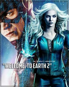Welcome to Earth 2 The Flash CW - Barry Allen & Caitlin Snow - Flash & Frost