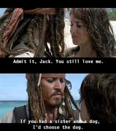 If you had a sister and a dog...