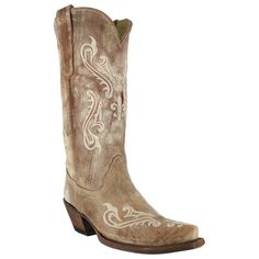 Corral Womens Cortez Cliff Embroidered Western Boots