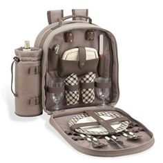 Picnic at Ascot New Hudson Backpack for Two With Blanket Picnic Backpack, Picnic At Ascot, Picnic Date, Ecommerce Platforms, All In One, Good Things, Backpacks, Picnics, Bags