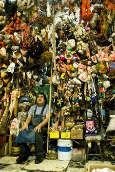 Marchante del Mercado de Sonora