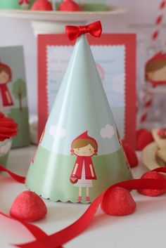 Little Red Riding Hood Girl Fairytale Storybook Birthday Party Planning