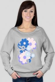 Bluza- w kwiaty