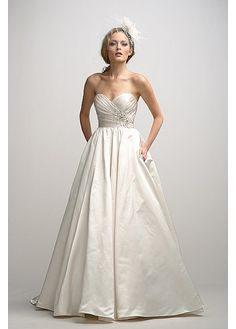 Elegant Exquisite Taffeta A-line Sweetheart Wedding Dress
