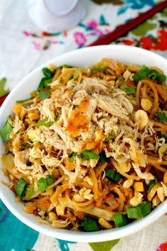 Hoisin Pork Noodle Bowl ~ The Complete Savorist
