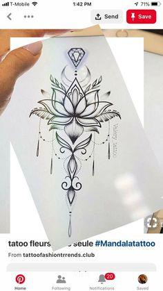 Außergewöhnlich Tattoo-Zeichnungen – tattoos for women meaningful Spine Tattoos, Body Art Tattoos, Hand Tattoos, Small Tattoos, Sleeve Tattoos, Tatoos, Mandala Tattoo Design, Flower Tattoo Designs, Designs Mehndi